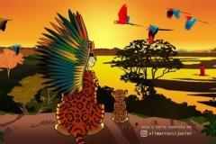 Rei-Leão-Artista-Brasileiro-Animais-Amazonia-5