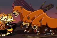 Rei-Leão-Artista-Brasileiro-Animais-Amazonia-6